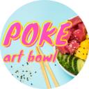 Poke Art bowl