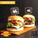 Burger + Gelato Treccioni