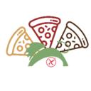 Pizza contemporanea Gourmet #senzaglutine