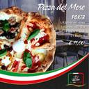 PIZZA DEL MESE: POKER