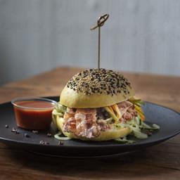 Pulled-Pork Burger