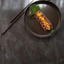 Tataki di tonno con mix di frutta e verdura marinato con salsa speciale