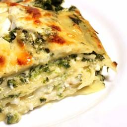 """Lasagna """"Senatore Cappelli"""" con verdure di stagione"""
