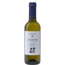 """Vino bianco Trebbiano """"Le Rocche Malatestiane"""" 0,375cl"""