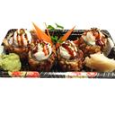 Futomaki Hot Roll Salmone e Philadelphia - 4 Pezzi
