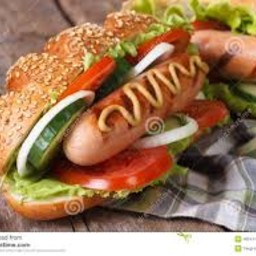 Hot Dog (alla piastra)