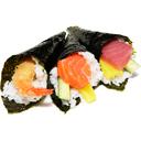 Temaki tempura di gamberi