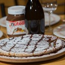 Pizza con Nutella