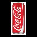 Coca Cola latt. 33 cl.