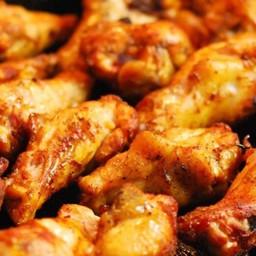 Alette di pollo speziate