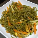 P34 Spaghetti with Te Verde with Vegetables
