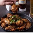 Alette di pollo con salsa bbq