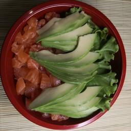 Chirashi Tartare di Salmone e Avocado