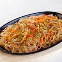 15b - Spaghetti di soia con gamberi e verdure