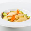 16b - Gnocchi di riso con gamberi e verdure