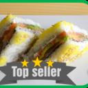 Sushi SANDWICH Salmon
