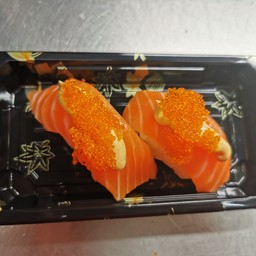 Nigiri spicy salmon 2pz