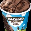 Ben & Jerry's - CHOCOLATE FUDGE BROWNIE