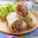 Burrito con Salmone