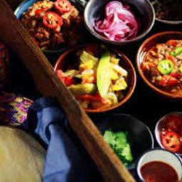 Sabor Mexicano per 2 Persone con 4 Tortilla di Grano