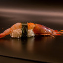 Nighiri uncooked shrimp 2 pieces