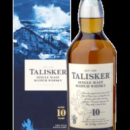 Talisker 10 Years Single Malt Scotch Whisky 70cl (Astucciato)