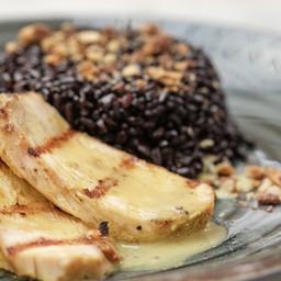 Grilled organic chicken breast