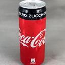 Coca cola  zero in lattina 33 cl