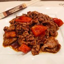 Manzo con peperoni e salsa di zenzero