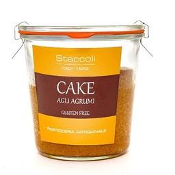 Cake agli agrumi senza glutine in vasocottura