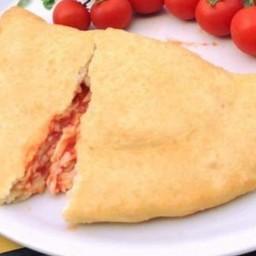 Pizza Fritta maxi margherita