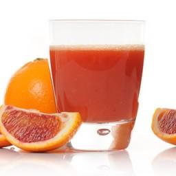 Spremuta di arancia fresca