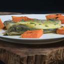 Filetti di branzino alle erbe italiane e curcuma (2 filetti spinati a mano da pesce fresco) 140 GR | ID 362