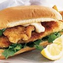 fish burger(Filetto di pesce fritto impanato)