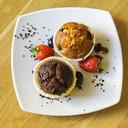 Muffin biologico al cioccolato