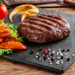 Hamburger di Angus Irlandese