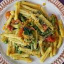 Caserecce di Gragnano IGP von verdure saltate