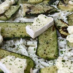 Zucchine e briè