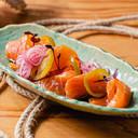 Sashimi di salmone con salsa ponzu al limone