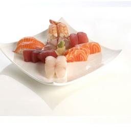 Sushi e sashimi mix