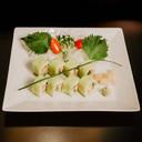 Crunchy chicken uramaki