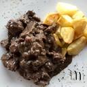 Peposo di vitello con patate