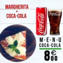 MARGHERITA + COCA-COLA